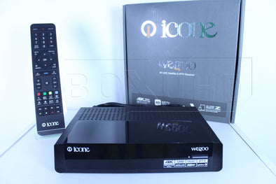ICONE WEGOO 4K UHD SATELLITE & IPTV RECEIVER