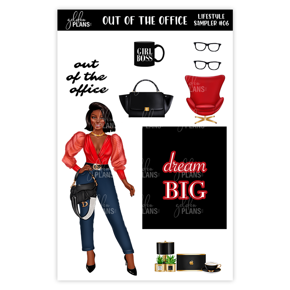 Out of the office   | LIFESTYLE SAMPLERS
