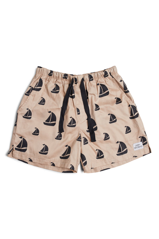 CHARCOAL BOAT | MID SHORT