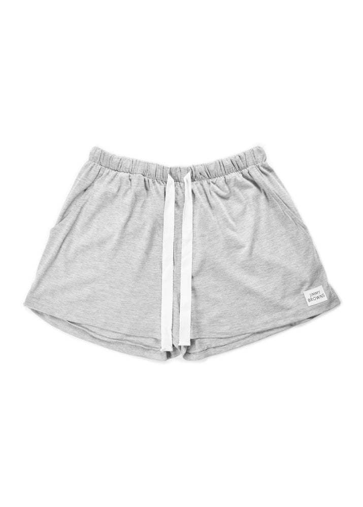 Jersey Cotton | Grey | Women Short