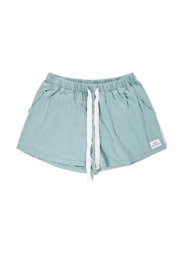 Jersey Cotton | Sage | Women Short