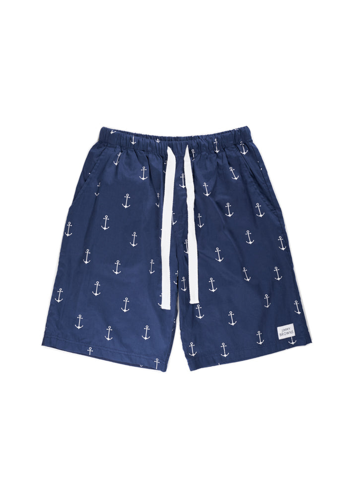 Anchor | Navy Blue | Short