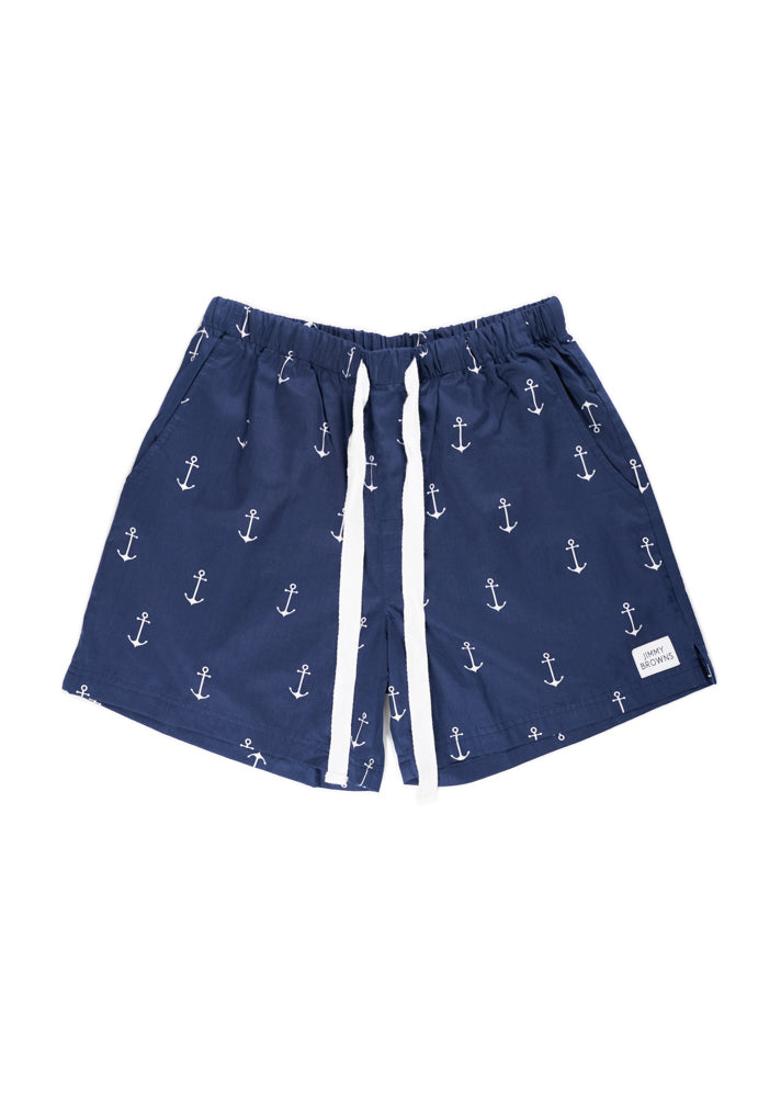 Anchor | Navy Blue | Mid Short