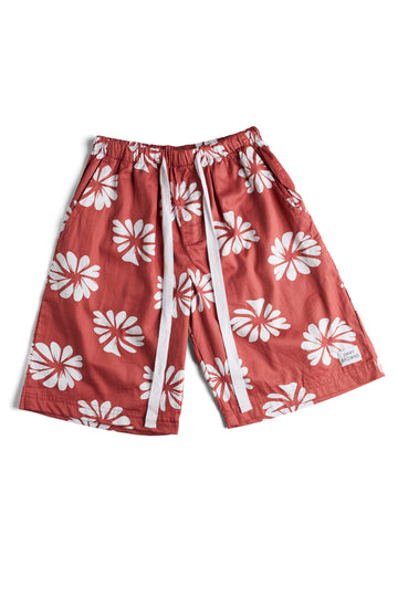 Burnt Red Flower | Short