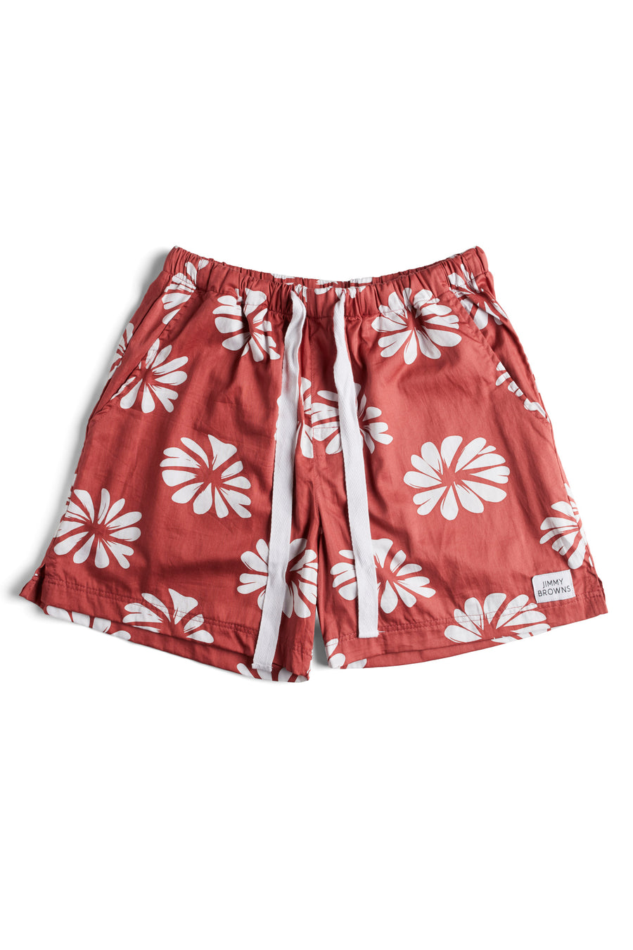 Burnt Red Flower | Mid Short