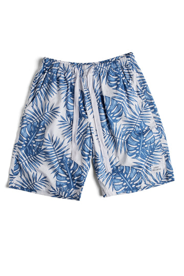 Blue Palm Leaf | Short