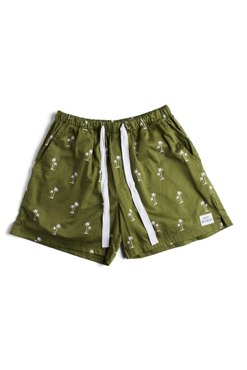 Khaki Palm Tree | Mid Short