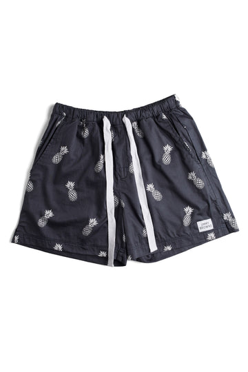 Charcoal Pineapple | Mid Short