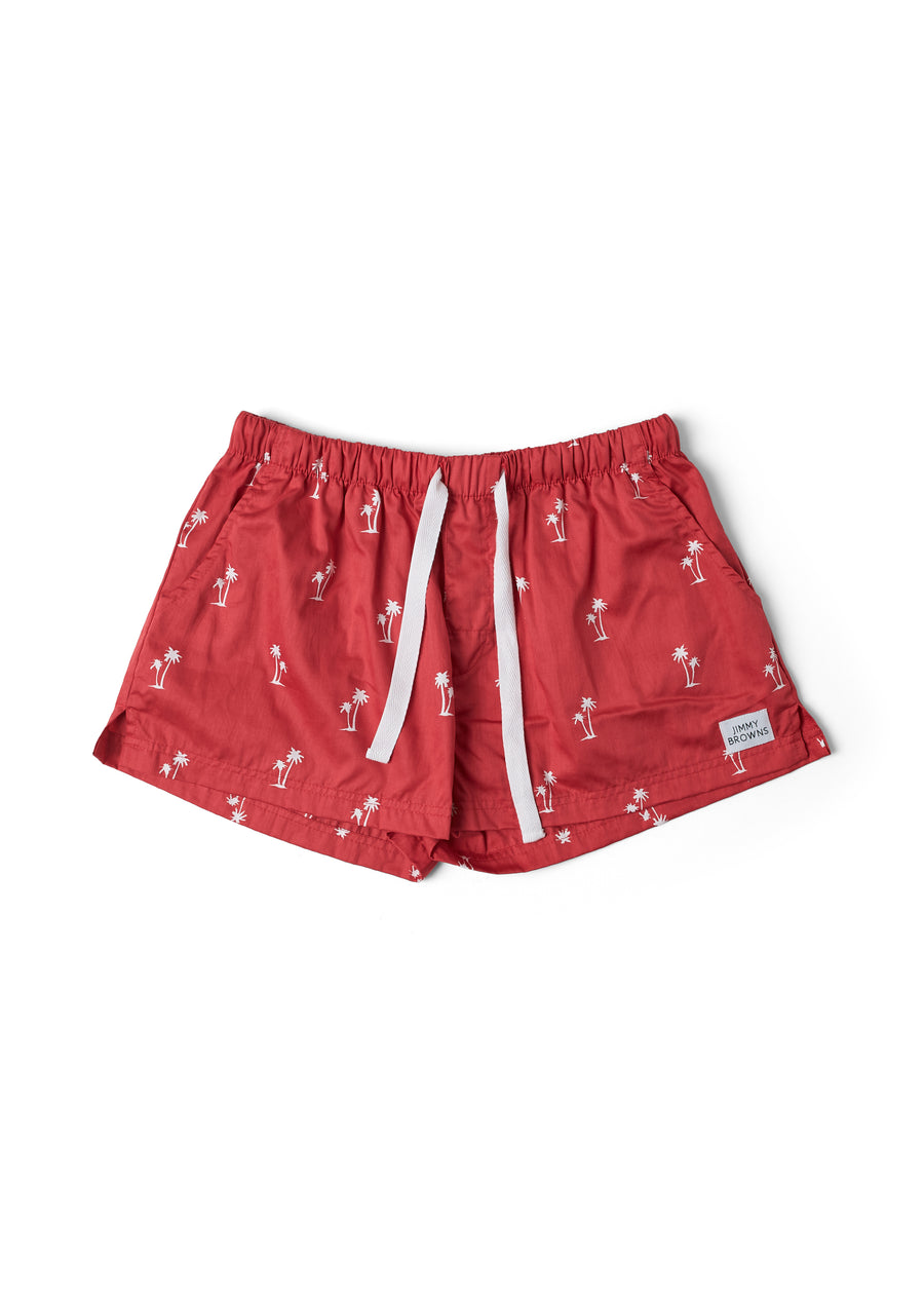 Palm Tree | Red | Women