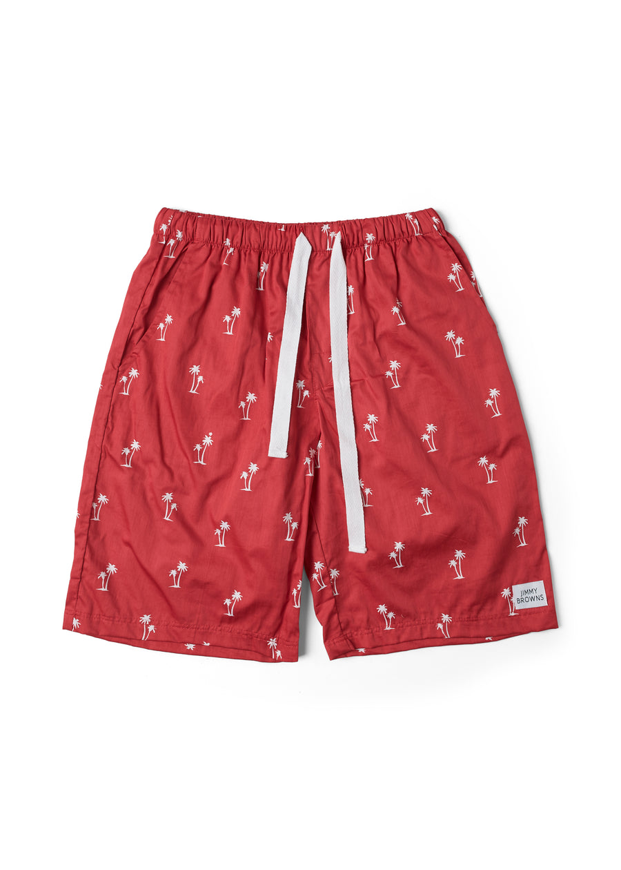 Palm Tree | Red | Short