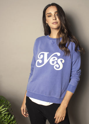 The Slouchy Sweat - Yes
