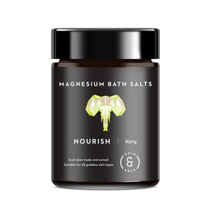 NOURISH Bath Salt - Australian Desert Lime | Coconut