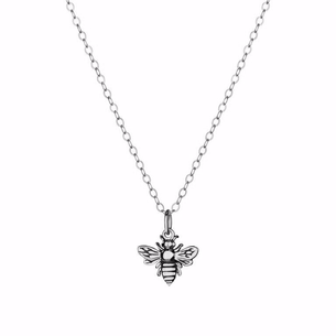 Sterling Silver Bee Necklace