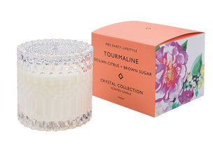 Candle Tourmaline - Sicilian Citrus & Brown Sugar