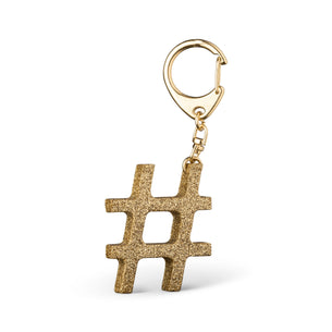 # Collaborate Store X Pirdy Glitter Hashtag Keyring