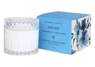 Candle Zircon - Passionfruit + Green Apple