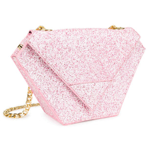 Diamond Bag - Pink Glitter