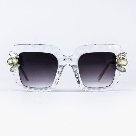 Crystal Clear Prism Sunglasses