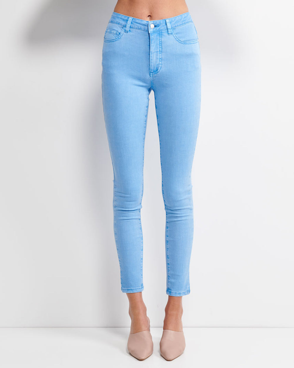 Audrey High Rise Jeans - Parison Blue