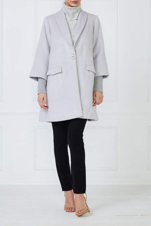Diamond Coat - Soft Grey
