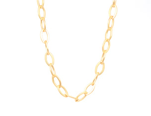 Marie Necklace - Soft Matte Gold