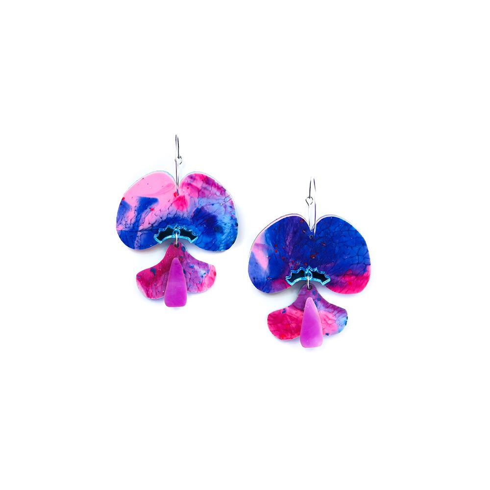 Pea Flower | Pink Blue