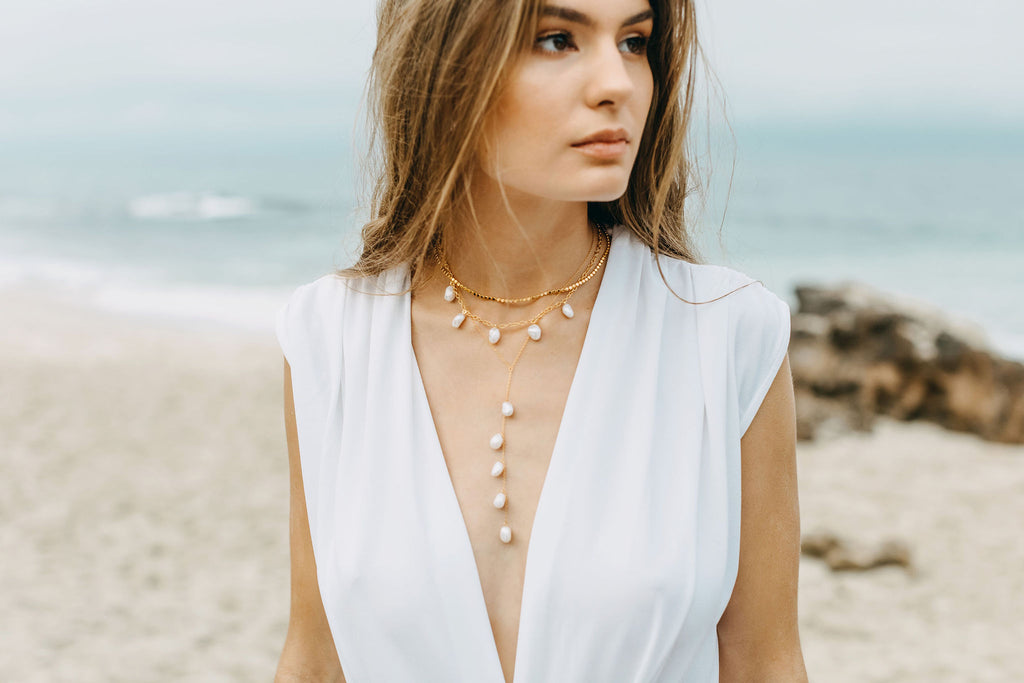 Cable Beach Necklace - Silver