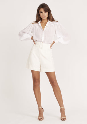 Symphony Tailored Shirt - White