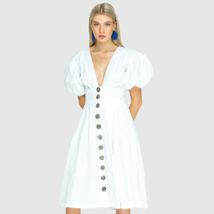The Jamie Dress - White