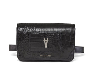 Freefall Belt Bag - Noir Alligator