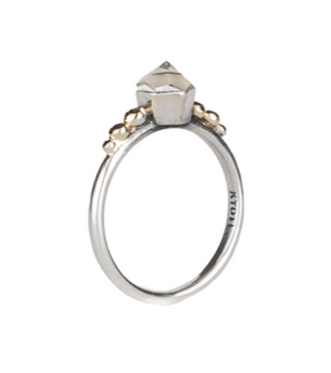 Elysian Ring -  Clear Quartz