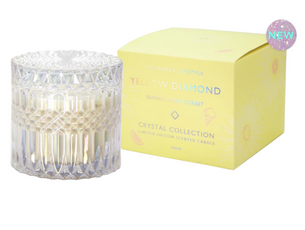 Candle Yellow Diamond - Summer Fruit Sorbet (Limited Edition)