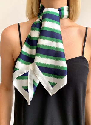 Wendy Hair Scarf - Green