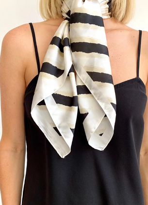 Wendy Hair Scarf - Beige