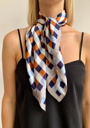 Ingrid Hair Scarf - Tan