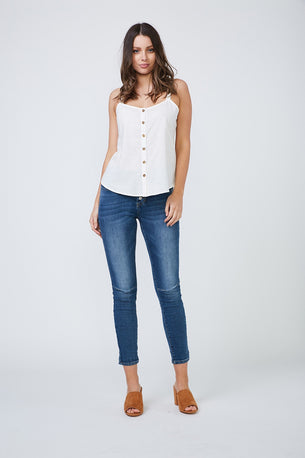 Laylah Top - White