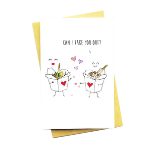 Can I Take You Out Card