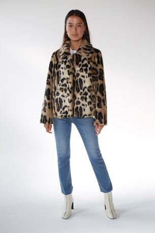 The Maxine Jacket - Leopard