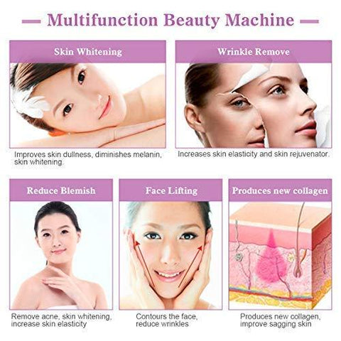 LED Radio Frequency Anti-Aging Beauty Device