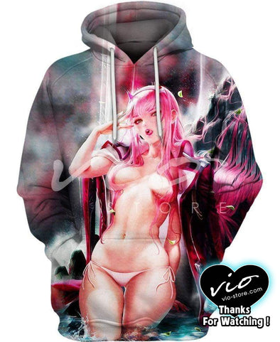 Ahegao-Hoodie-Shirt-Clothing-Jacket-Zip-Up-I Get Too Wet-VIO STORE