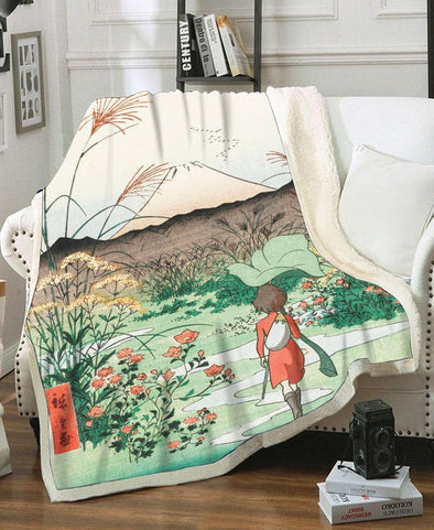 Blanket-Adult 80″x 60″-Shirt-Clothing-Jacket-Zip-Up-Arrietty Fleece Blanket-VIO STORE
