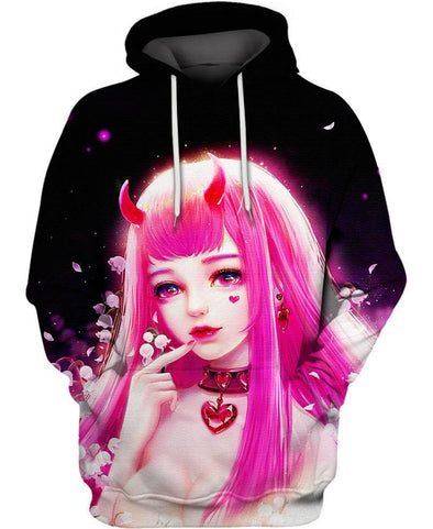 Darling in the Franxx-Hoodie-Shirt-Clothing-Jacket-Zip-Up-Lily In The Valley-VIO STORE