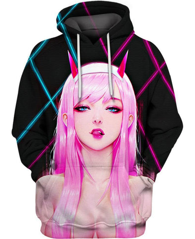 Darling in the Franxx-Hoodie-Shirt-Clothing-Jacket-Zip-Up-Zero Two Lip-VIO STORE