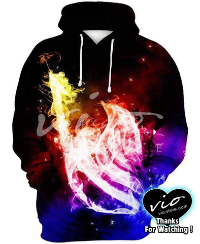 Fairy Tail-Hoodie-Shirt-Clothing-Jacket-Zip-Up-Fairy Tail Symbol-VIO STORE