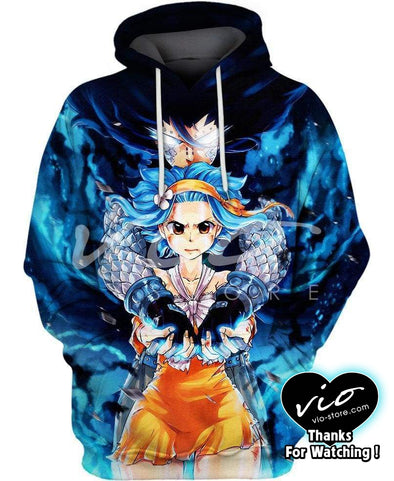 Fairy Tail-Hoodie-Shirt-Clothing-Jacket-Zip-Up-Levy-VIO STORE