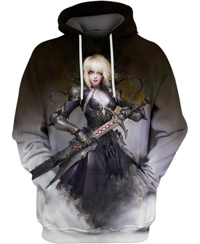Fate Stay Night-Hoodie-Shirt-Clothing-Jacket-Zip-Up-Alter Gothic Dress-VIO STORE