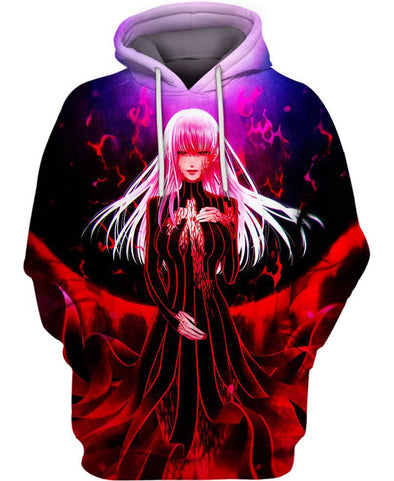 Fate Stay Night-Hoodie-Shirt-Clothing-Jacket-Zip-Up-Blood Light-VIO STORE