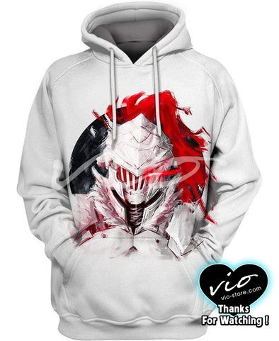 Goblin Slayer-Hoodie-Shirt-Clothing-Jacket-Zip-Up-Goblin Hunting-VIO STORE