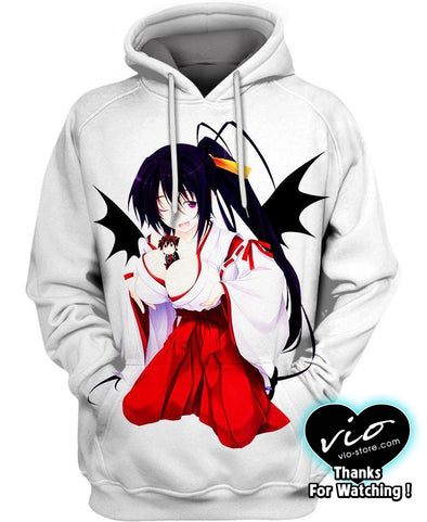 Highschool DxD-Hoodie-Shirt-Clothing-Jacket-Zip-Up-Giantess Version-VIO STORE