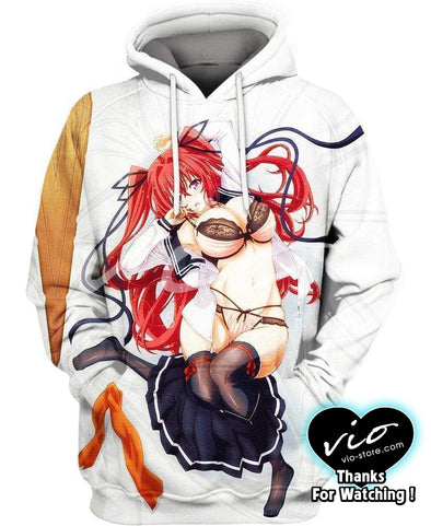 Highschool DxD-Hoodie-Shirt-Clothing-Jacket-Zip-Up-Naruse Mio-VIO STORE